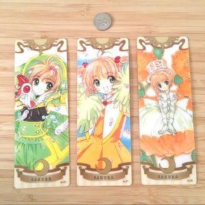 Rare cardcaptor sakura cosplay clow bookmarks